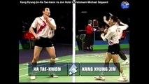 Les meilleures Jeu Corée Maryland se rallier jeu Legend ganggyeongjin Ha Tae-kwon jeu enfance nationale / [légende badminton