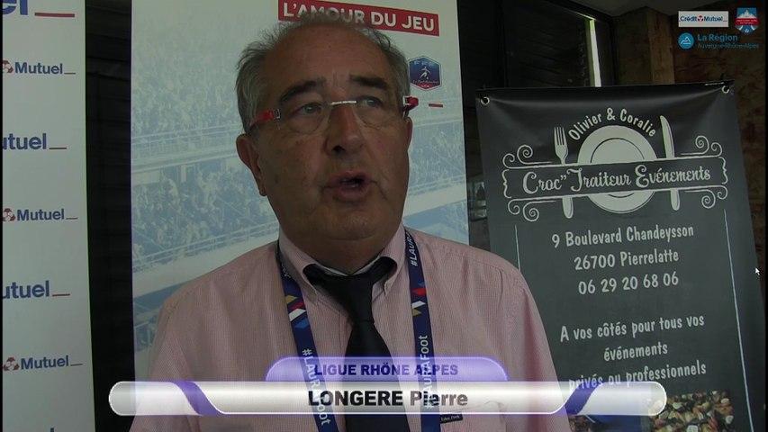 Interview de Pierre Longere lors des finales de la coupe Rhône-Alpes 2017