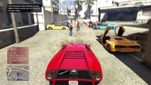 Online Car Meet In GTA 5 - Infernus Vs Infernus Clas