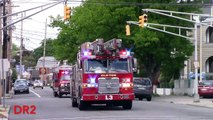 Clifton Fire Department Rare Rescue 1 And Ladder 3 Responding 5-1