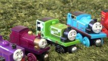 Wooden Train Thomas toy MEGA BLOKS Thomas & Gordon Sodor Speed Railway T