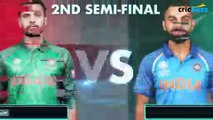 LIVE - India vs Bangladesh - ICC Champions Trophy Semi Final Live