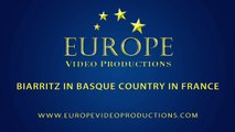 Biarritz in Basque Country in France - Biarritz au Pays Basque tourisme - surfing para