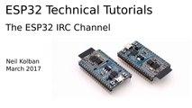 ESP32 Technical Tutorials  ESP32 IRC C