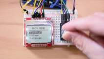 Rotary Encoder LED Ring Breakout Board - Blue Review - Vidéo