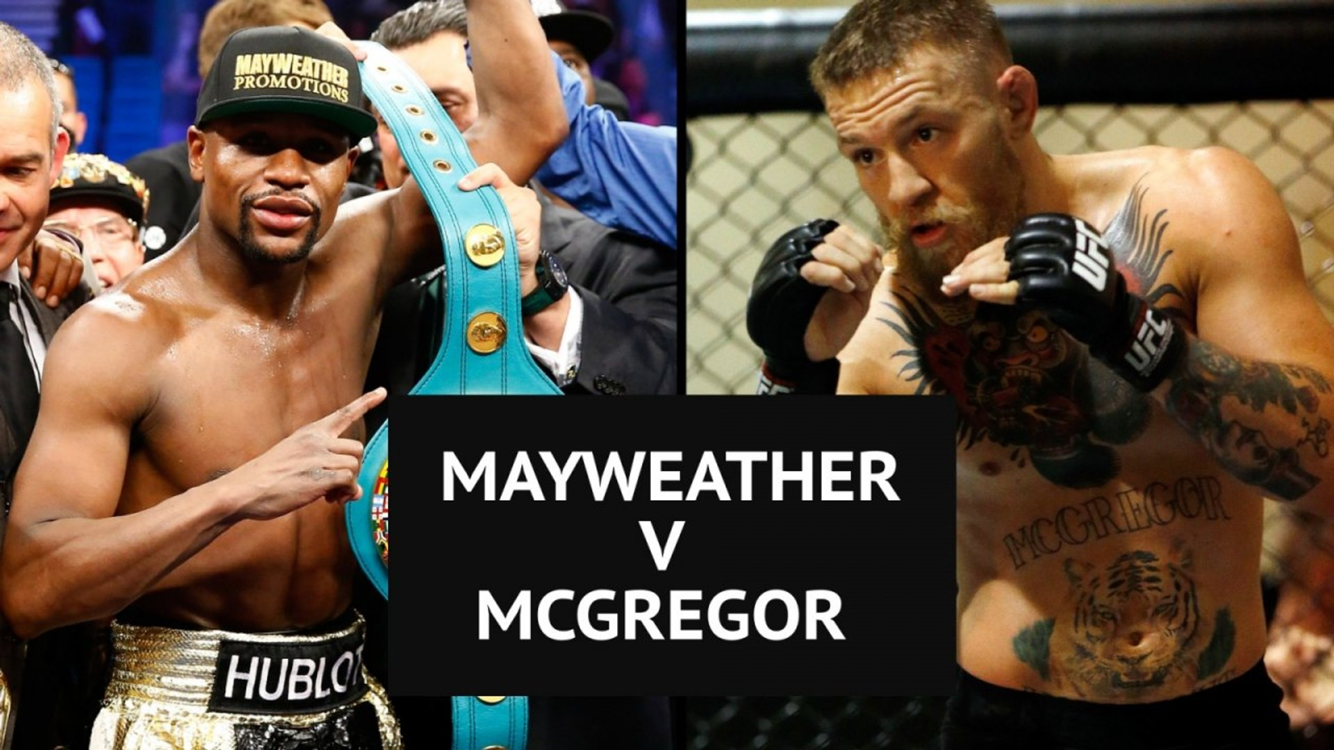 Floyd Mayweather V Conor Mcgregor Fight Confirmed For 26 August
