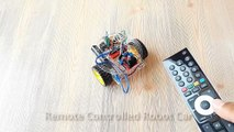 Arduino Project 14  Remote Controlled Robot Car (TV - Infrared Remote (IR