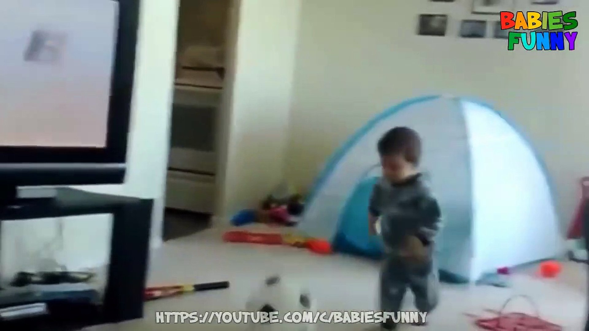 Funniest Kids Playing Football - Funny Kids Video