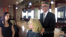 MAKEOVER: Am I too old for long hair? by Christopher Hopkins, The Makeover Guy®