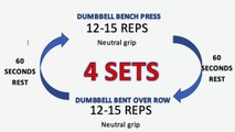 FAT BURNING UPPER BODY WORKOUT   Full Workout and Expl