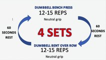 FAT BURNING UPPER BODY WORKOUT   Full Workout and Explana