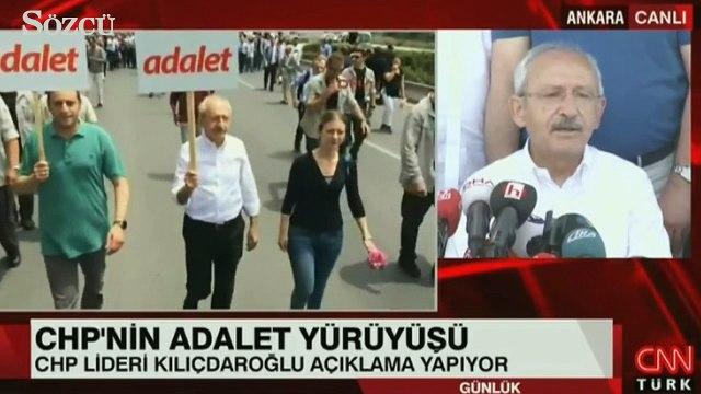 Kılıçdaroğlu ilk etabı bitirip açıklama yaptı