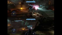 Halo 4 - Tank Gets Crushed Completely! =O