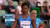 Athlétisme - Blessing Okagbare perd sa perruque au saut en longueur...