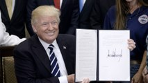 Trump signs executive order to expand apprenticeships