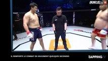 Un homme reçoit un coup de pied dans les testicules lors d'un combat de MMA (vidéo)