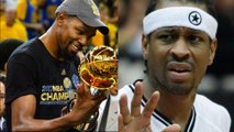 Kevin Durant Says Kyrie Irving is BETTER Than Allen Iverson