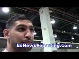 amir khan getting ready for his next fight EsNews boxing