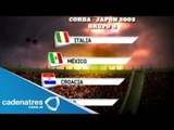 Los grupos de México en los pasados Mundiales de futbol