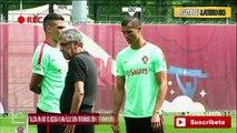 Cristiano Ronaldo a contado a sus compañeros de Portugal que se quiere ir del Real Madrid