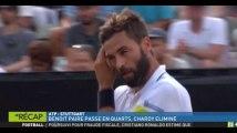 Zap Sport 16 juin : Benoît Paire se qualifie pour les quarts de finale au tournoi de Stuttgart (vidéo)