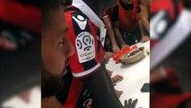 Dans les vestaires de Nice avec Mario Balotelli