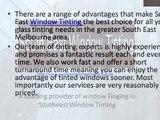 Window Tinting Frankston - Southeast Window Tinting