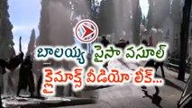 Balakrishna Paisa Vasool Movie Climax Making Video Leaked