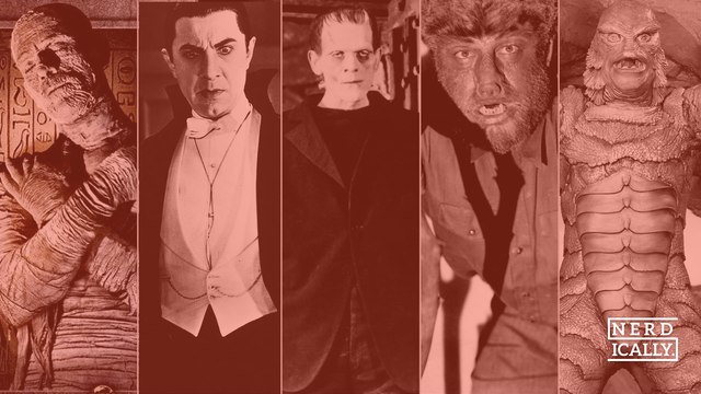 Four of the best and one of the worst Universal Monsters - who's your favourite?