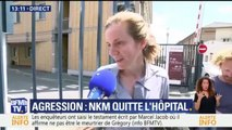 """NKm à sa sortie de l'hôpital : """"Je vais mieux, j'ai encore besoin de récupérer"""""""