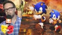 E3 2017 : On a joué à Sonic Forces sur PS4, Sonic en forme en 2D et en 3D
