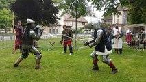 Campement et joutes à Troyes