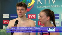 European Diving Championships - Kyiv 2017 - Lois TOULSON, Matthew LEE (GBR) - Winners of Synchronised Platform Mixed
