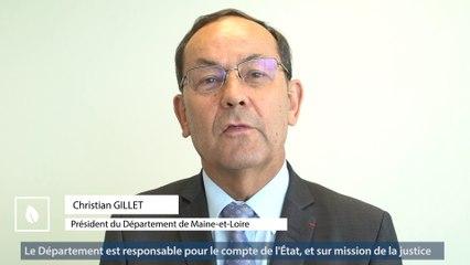 Protection de l'enfance : 4 questions au Président Christian Gillet