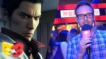 E3 2017 : On a joué à Yakuza Kiwami sur PS4, un remake qui sublime l'original