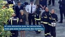Incendie de Londres : Theresa May tarde à rendre visite aux victimes et s'attire les critiques