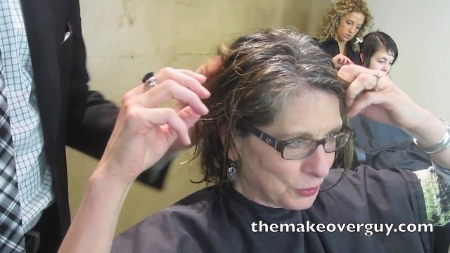 MAKEOVER! Reveal My Natural Gray Hair! by Christopher Hopkins, The Makeover Guy