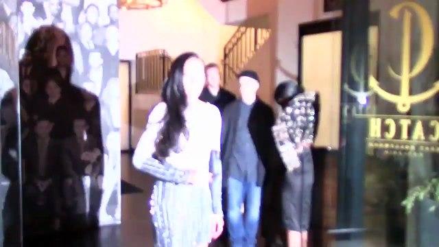 Sexy Victoria's Secret Model Selita Ebanks Breaktaking In Silver Gown