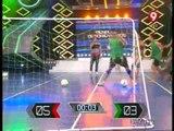 A los golpes en un programa de televisión de Argentina