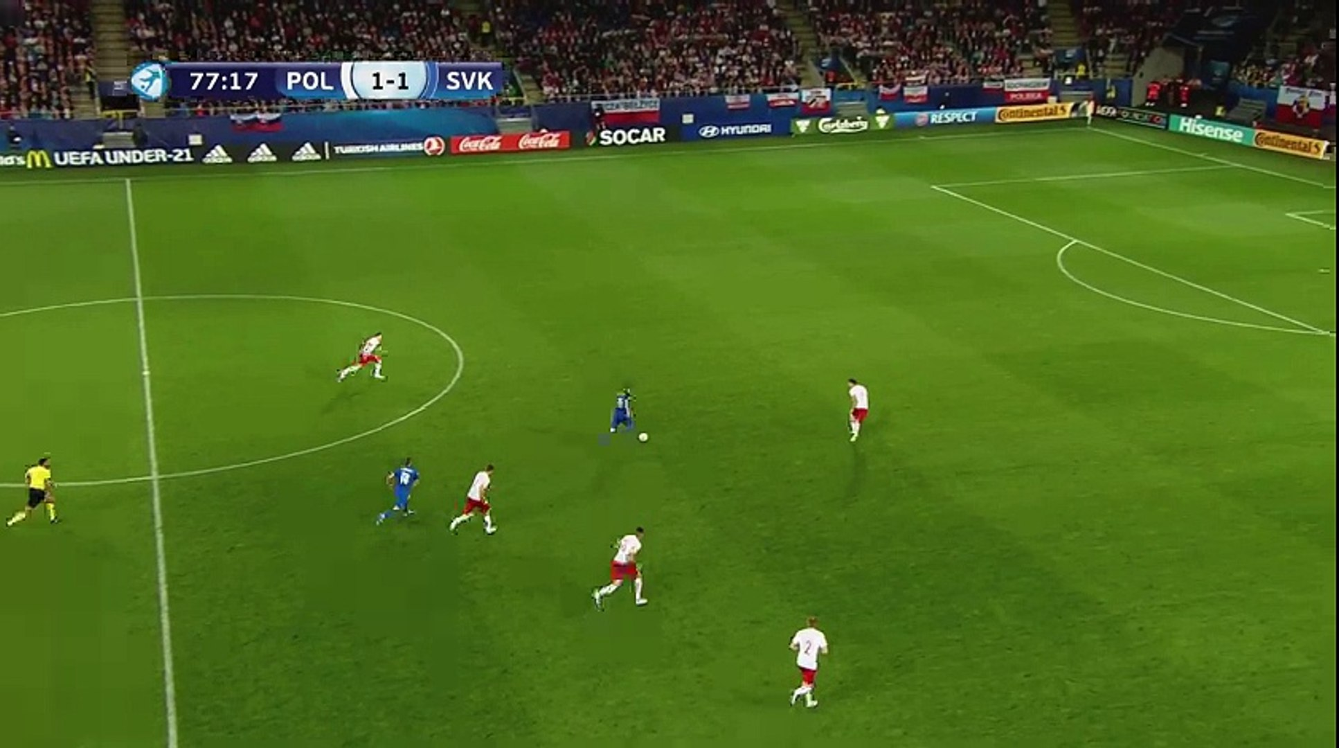 Poland U21 - Slovakia U21 1-2