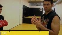 Cours de boxe pour débutant  - coups de poing (JAB, UPPERCUT, CROCHET)
