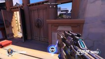 Overwatch: You know that top bit on the first Hanamura Choke that really only Pharah/Widow can utilize? If you position Soldier 76 right, you can make it up there yourself.