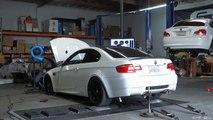 2013 BMW E92 M3 Dyno - Akrapovic Evolution Exhaust & ESS VT2 625 Supercharger