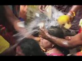 'Pain is nothing' Coconuts smashed over heads of hundreds devotees in Indian ritual