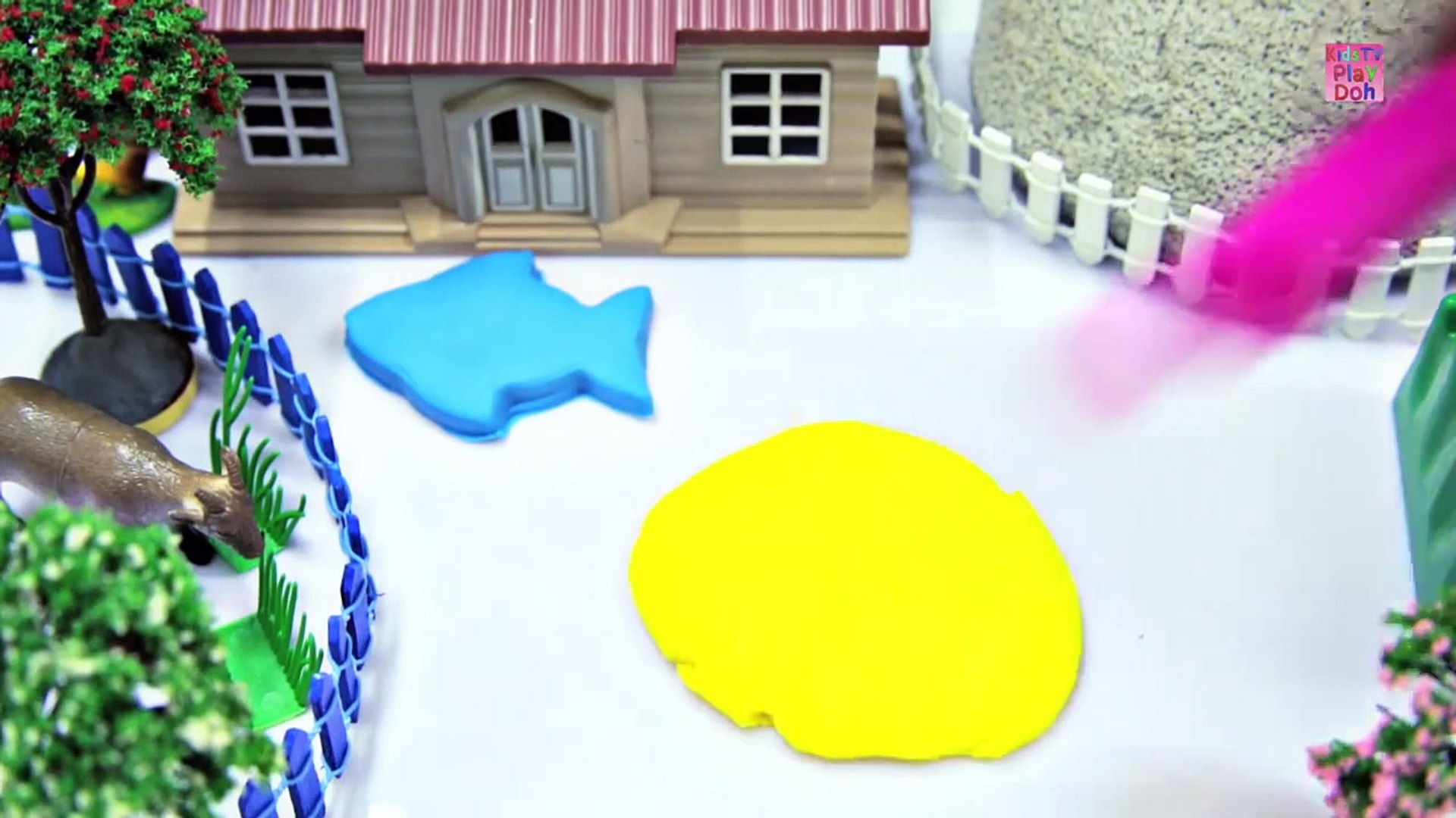 Learn Colors With Play Doh _ Play Doh Videoasds for Kids _ Kids Learning Videos  _ Play Doh Fish