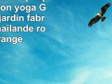 Matelas Thai 1p tapis méditation yoga Gym plage jardin fabriqué en Thaïlande