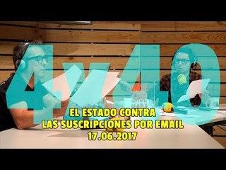 NADIE SABE NADA - (4x40): El estado contra las suscripciones por email