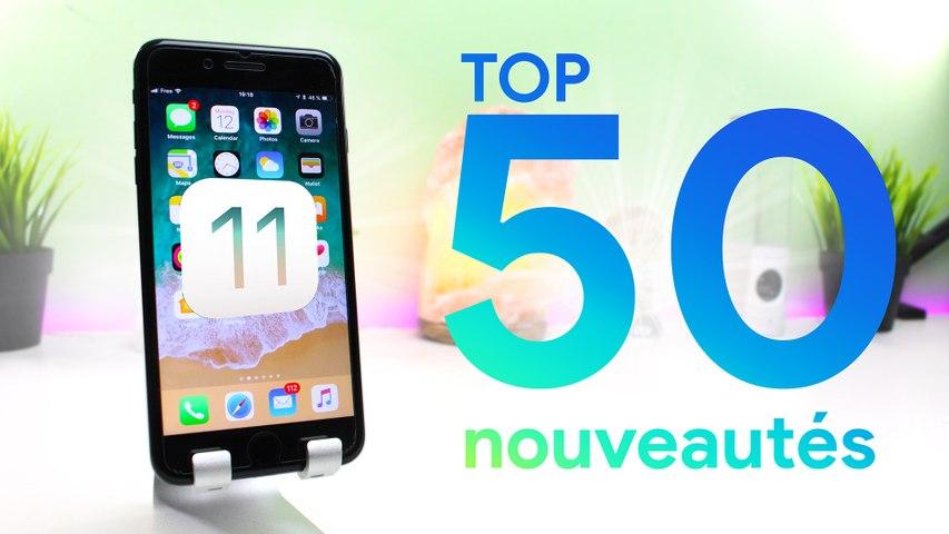 iOS 11 : 50 nouveautés en 3min !