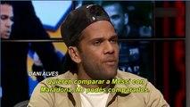 Dani Alves criticó a Maradona y La mano de Dios