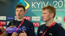 European Diving Championships - Kyiv - Frederick WOODWARD, James HEATLY (GBR) - Bronze medalists of Synchronised 3m Men